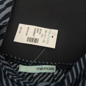 Maurices Tops - striped tank top